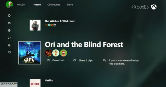 به روز رسانی تازه رابط کاربری Cortana برای Xbox one