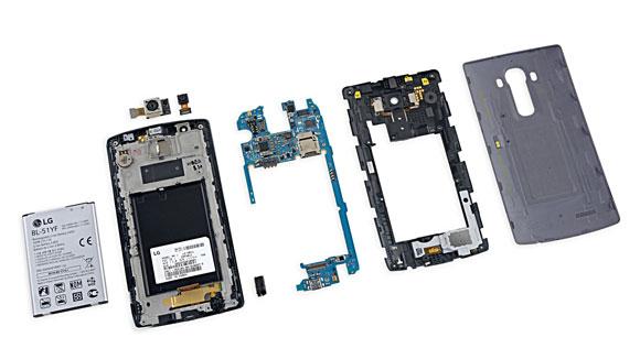 بررسی و تست تعمیر LG G4 از دیدگاه iFixit