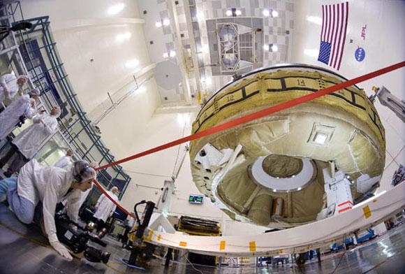 شکست پروژه بشقاب پرنده ناسا برای فرود بر مریخ