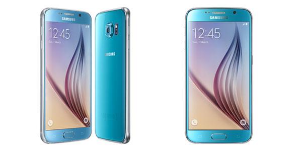 گوشی های گلکسی اس ۶ و گلکسی اس ۶ اج با رنگ بندی جدید وارد بازار می شود.
