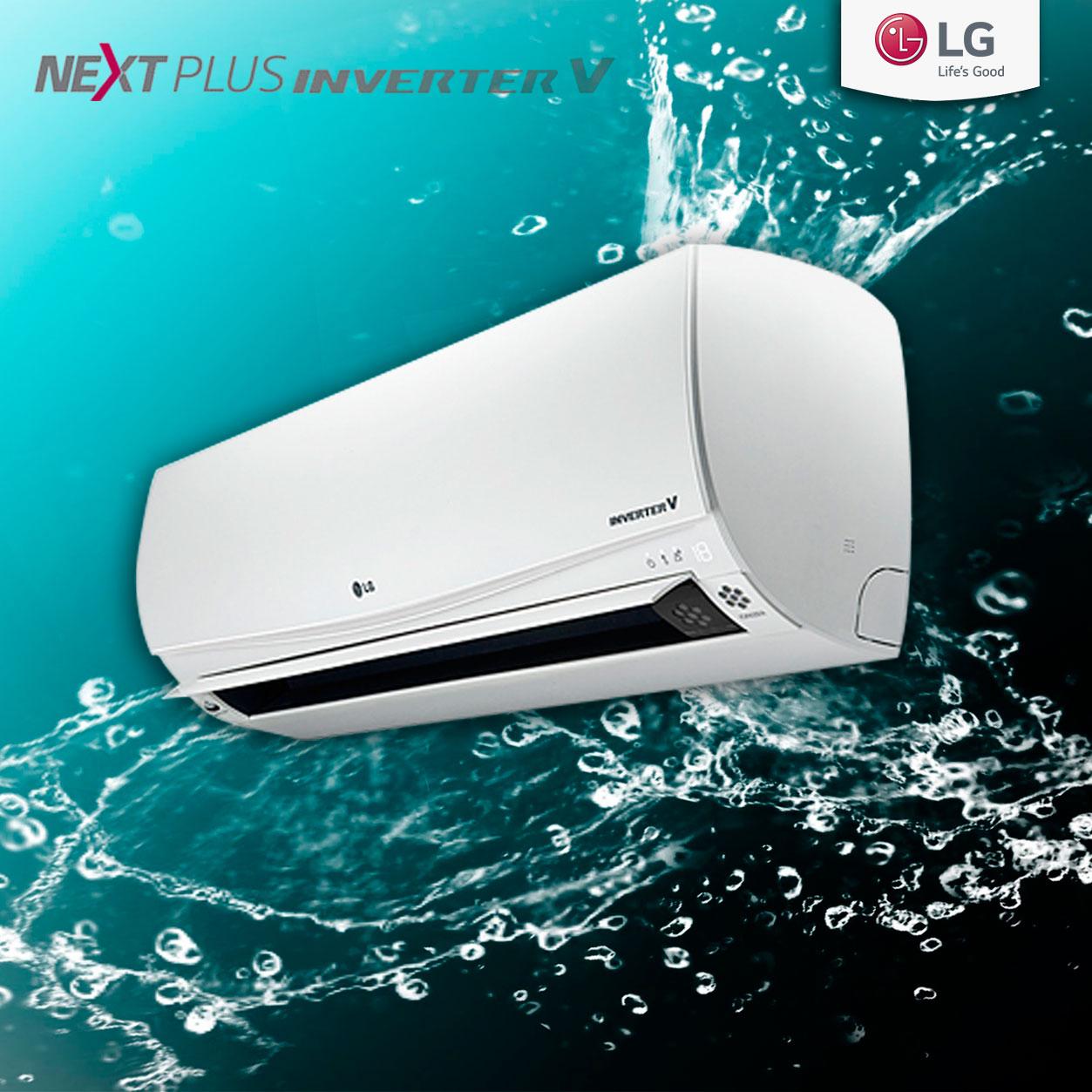 دستگاه تهویه مطبوع Next Plus Inverter ال جی زندگی را طوری دیگر به شما معنا می کند