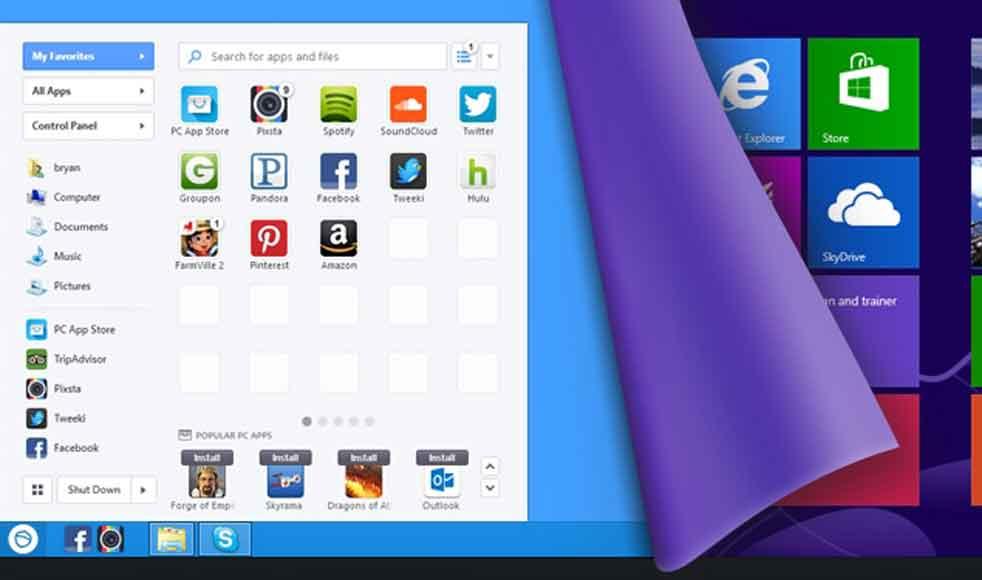 چگونه دکمه Start را در ویندوز 8 ظاهر کنید