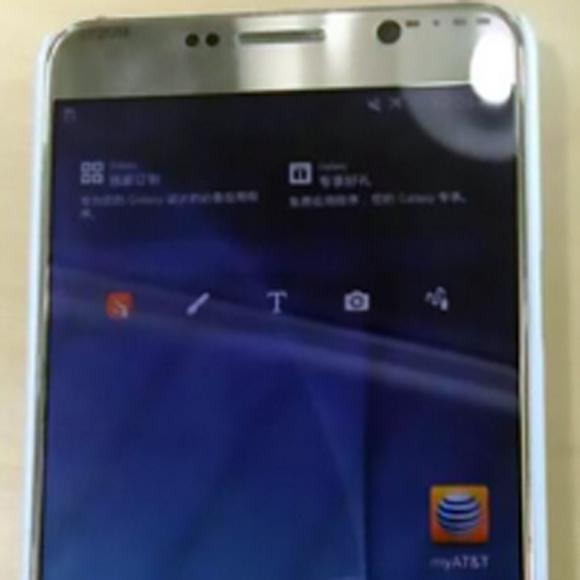 تصاویر، سامسونگ گلکسی Note 5 را طلایی نشان میدهند