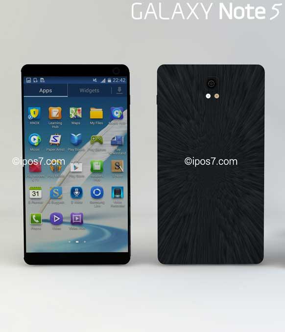 مشخصات احتمالی Galaxy Note 5 به بیرون درز کرد