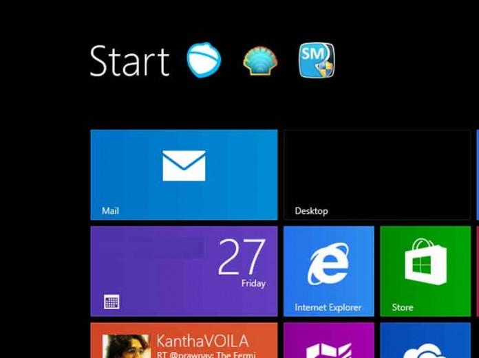 • چگونه دکمه Start را در ویندوز 8 ظاهر کنید