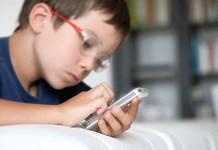 گسترش گوشی های هوشمند در رنج سنی 6 سال