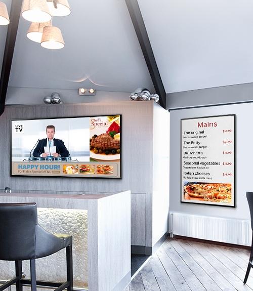 تلوزیون تجاری  Smart Signage TV سامسونگ
