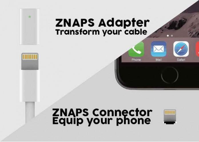 Znaps یک پورت شارژ مغناطیسی به تمام گوشی های هوشمند اضافه میکند