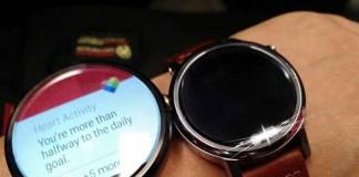 ساعت Motorola Moto 360S در کنار Moto 360