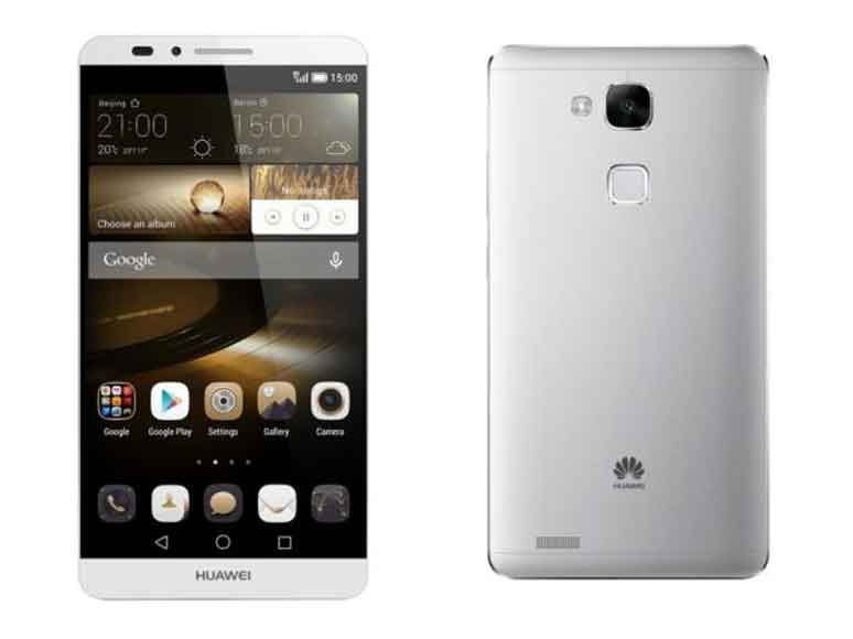 گوشی Mate Huawei S از نمایشگر  لمس فشاری استفاده می کند
