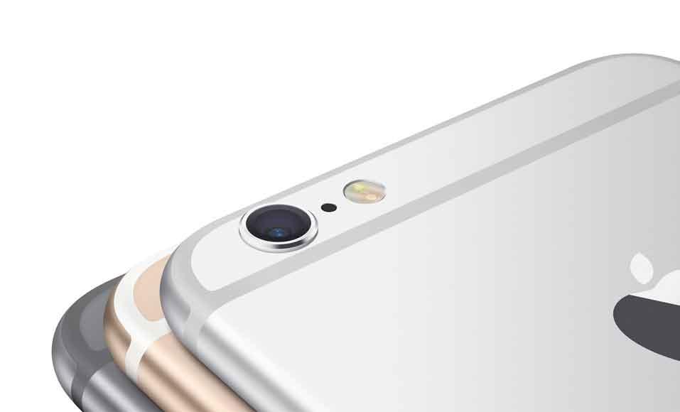 دوربین پشت گوشی های iPhone 6s و iPhone 6s Plus 12 مگا پیکسلی است.