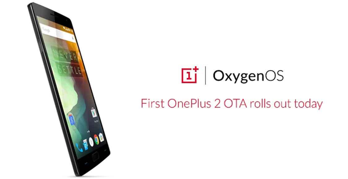 گوشی OnePlus 2 با آپدیت OxygenOS 2.0.1 برای رفع مشکل