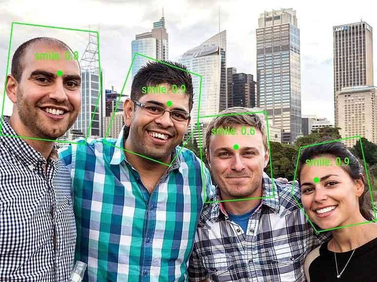 رو نمایی گوگل از Vision API گوشی های اندرویدی که چهره را شناسایی می کنند،