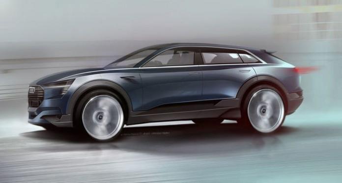 آئودی E-tron Quattro مفهومی ، با سرعت 500 کیلومتر !