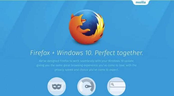 Firefox 40 از ویندوز 10 پشتیبانی میکند