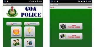 پلیس گوا اپلیکیشنی برای گزارش جرم و شرایط اضطراری ساخت