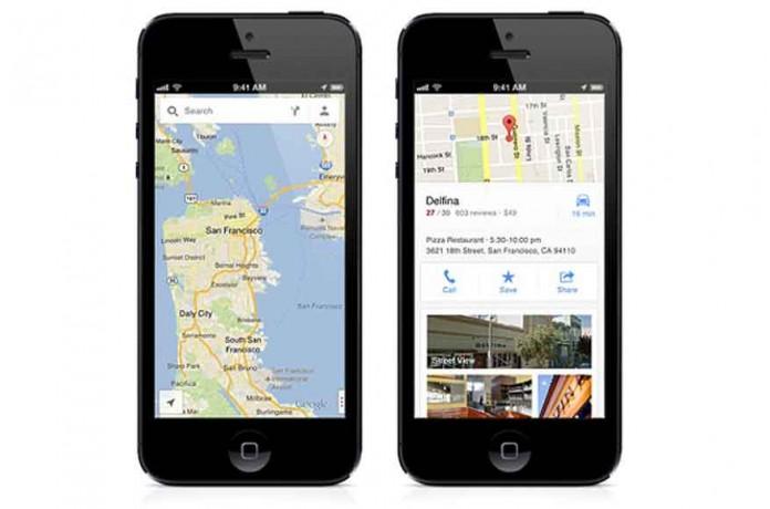 Google Maps برای iOS آپدیت می شود