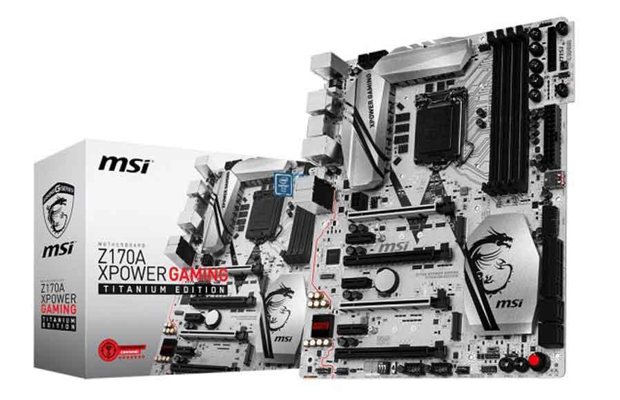 مادر برد Z170 برای پردازنده های  'Skylake'  اینتل ساخته شد
