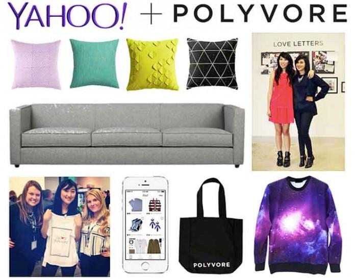 یاهو و خرید Polyvore
