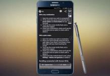 چگونه با Samsung Galaxy Note5 از صفحه عکس بگیریم ( اسکرین شات )