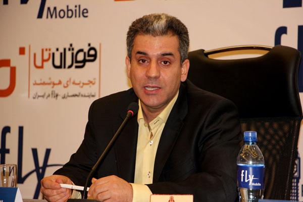 رونمایی از گوشی های جدید شرکت فلای در هتل پارسیان تهران با حضور اصحاب رسانه