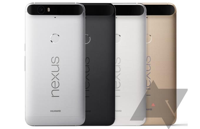 نکسوس 6p هواوی در چهار رنگ عرضه خواهد شد