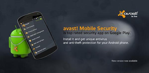 اپلیکیشن ویروس کشی Avast Mobile Security & Antivirus