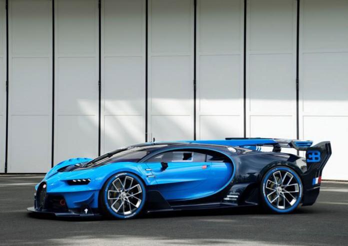خودرو جدید بوگاتی Bugatti Vision Gran Turismo