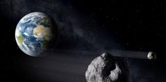 نزدیک شدن بیش از حد یک سیارک به زمین