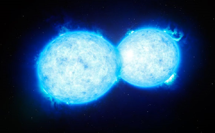 Astronomers-Reveal-the-Hottest-and-Most-Massive-Touching-Double-Star