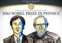 جایزه ی نوبل فیزیک 2015 به دانشمندان ژاپنی و کانادایی اهدا شد