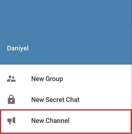 new channel in telegram