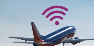 internet access in the airplane