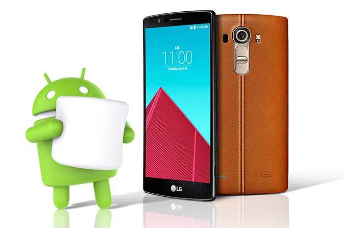 انتشار اندروید 6.0 مارشمالو برای LG G4 از هفته آینده