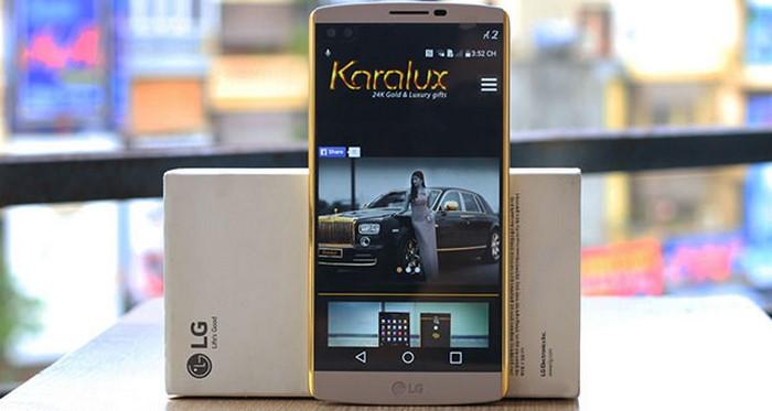 فروش استثنایی گوشی LG V10 در ایالات متحده تا 15 نوامبر