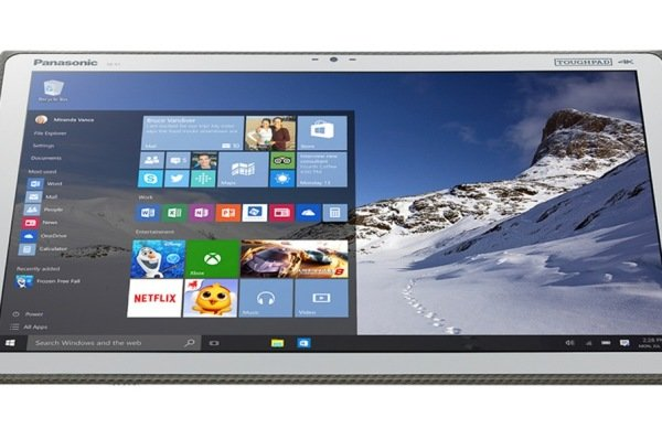 panasonic 20 inches tablet 2