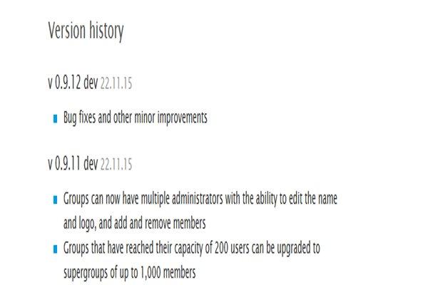آپدیت جدید تلگرام افزایش ظرفیت گروه ها