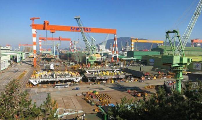 سامسونگ بزرگترین کشتی جهان را میسازد!