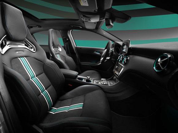 مرسدس AMG A 45 Petronas برای جشن قهرمانی فرمول وان معرفی شد