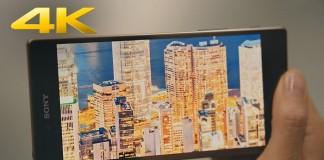 مقایسه عملکرد باتری Z5 Premium با صفحه نمایش 4K با سایر گوشی ها