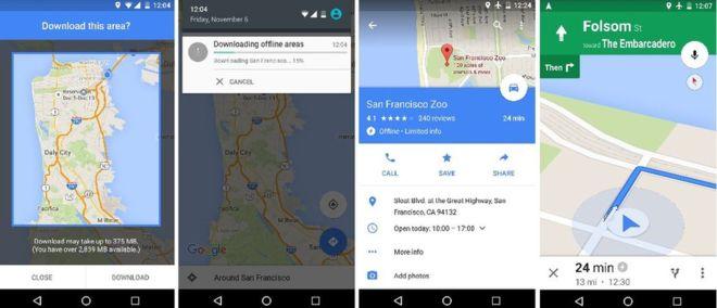 using google maps offline (1)