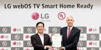 webOS 3.0 برای قابلیت هوشمندسازی خانه گواهینامه UL دریافت کرد