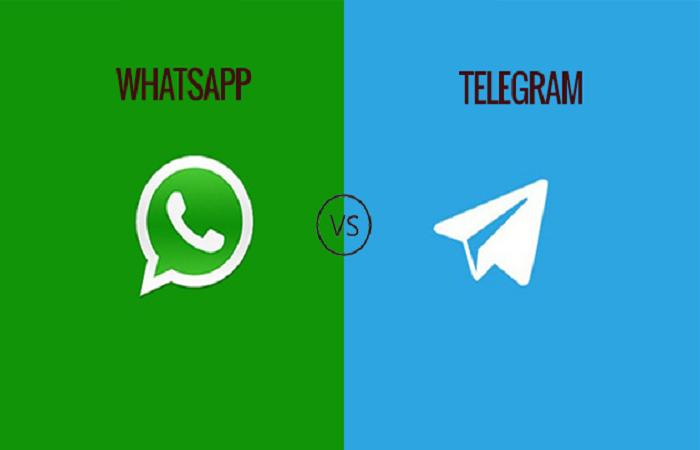 اعلام جنگ واتساپ به تلگرام