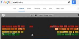 بازی آتاری مخفی شده در بخش جستجوی تصاویر گوگل!