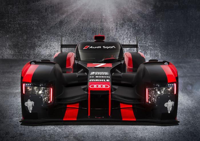 آئودی R18 2016 ،خودرو جدید مسابقات نشان داده شد