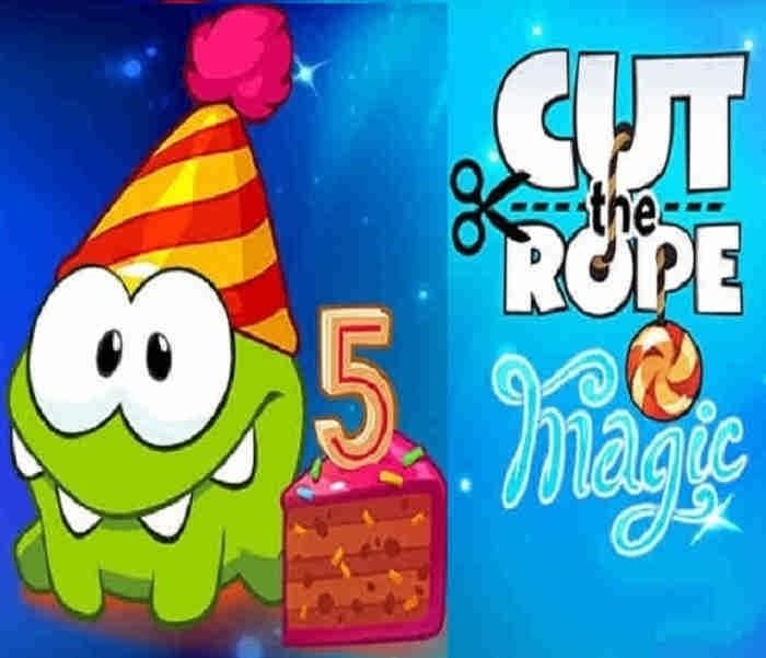 معرفی بازی جدید Cut The Rope : Magic + دانلود برای اندروید و iOS