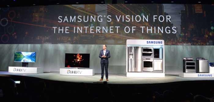 تلویزیون های هوشمند سامسونگ با اینترنت اشیا هوشمند تر می شود
