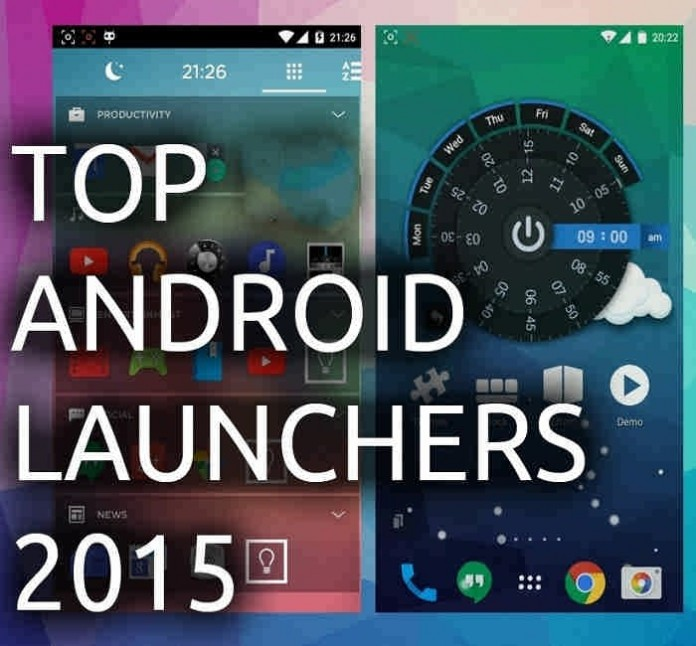 top android launchers 2015