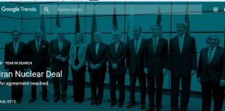 توافق هسته ای ایران جزو پ جستجو ترین نتایج گوگل