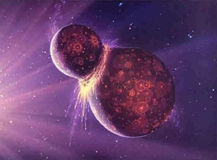 آیا می دانستید زمین از دو سیاره تشکیل شده است؟